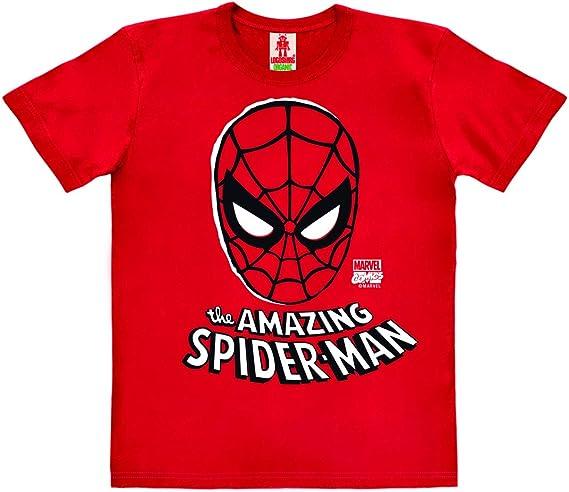 taglie da 18 mesi a 8 anni Maglietta ufficiale Ultimate Amazing Spider-Man per bambini