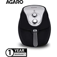 AGARO 1300-Watt, 3.2 litres Air Fryer with Rapid 3D Uniform Heating (Black)