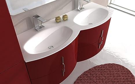 Lavabo Con Mobiletto Sospeso : Mobile arredo bagno sting cm sospeso disp in colori con