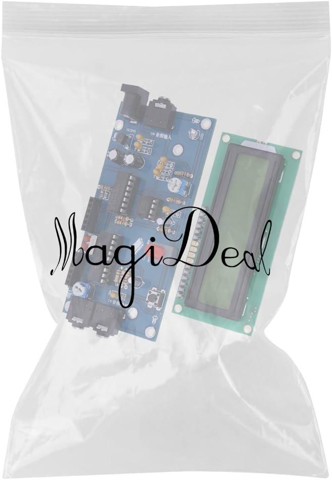 MagiDeal Lettore Traduttore Codice Morse TS-CW01 per Radioamatori Display Digitale