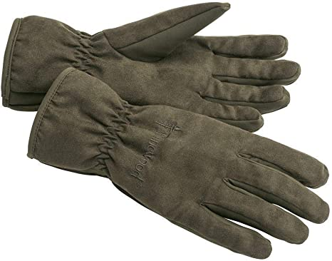 244 Pinewood 1501 Extrem Suede Padded Handschuh Wildlederbraun