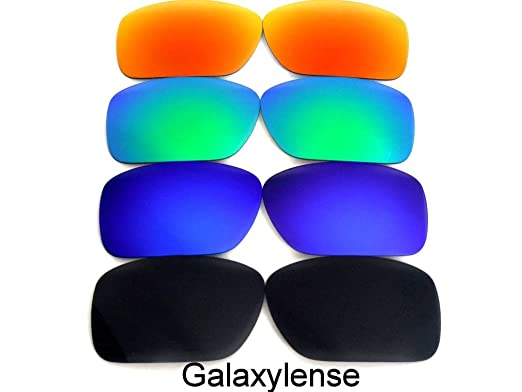 c90f44fb398a9 Image Unavailable. Image not available for. Color  Galaxy Replacement lenses  For Oakley Fuel Cell Polarized Black Blue Green Red