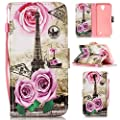 Case for ZTE Prestige N9132 / Avid Plus Z828 / Maven 2 Z831 / Sonata 3 Z832, Mellonlu Flip PU Leather Fold Wallet Pouch Stand Magnetic Protective Phone Case Cover for ZTE Prestige N9132 from Mellonlu