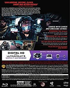 Live Die Repeat: Edge of Tomorrow (Blu-ray + DVD) from Warner Home Video