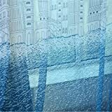 MEILIANJIA Blue Castle Printing Multi Size Optional Custom Curtains Sheers 72″ W x 84″ L(One Panel),Blue Review