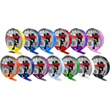 Premier Football Sock Tape 33m Socks Retainer Shin Guards Holder Assorted Colour