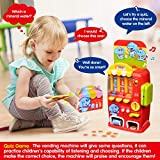 LUKAT Vending Machine Toddler Toys, Pretend Play