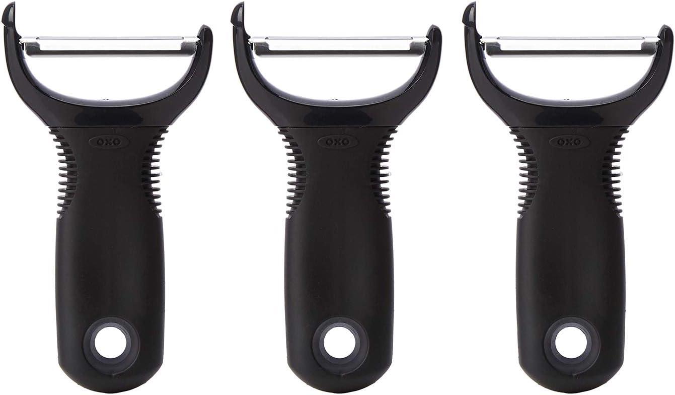 OXO Good Grips Y Peeler,Black,Pack of 3