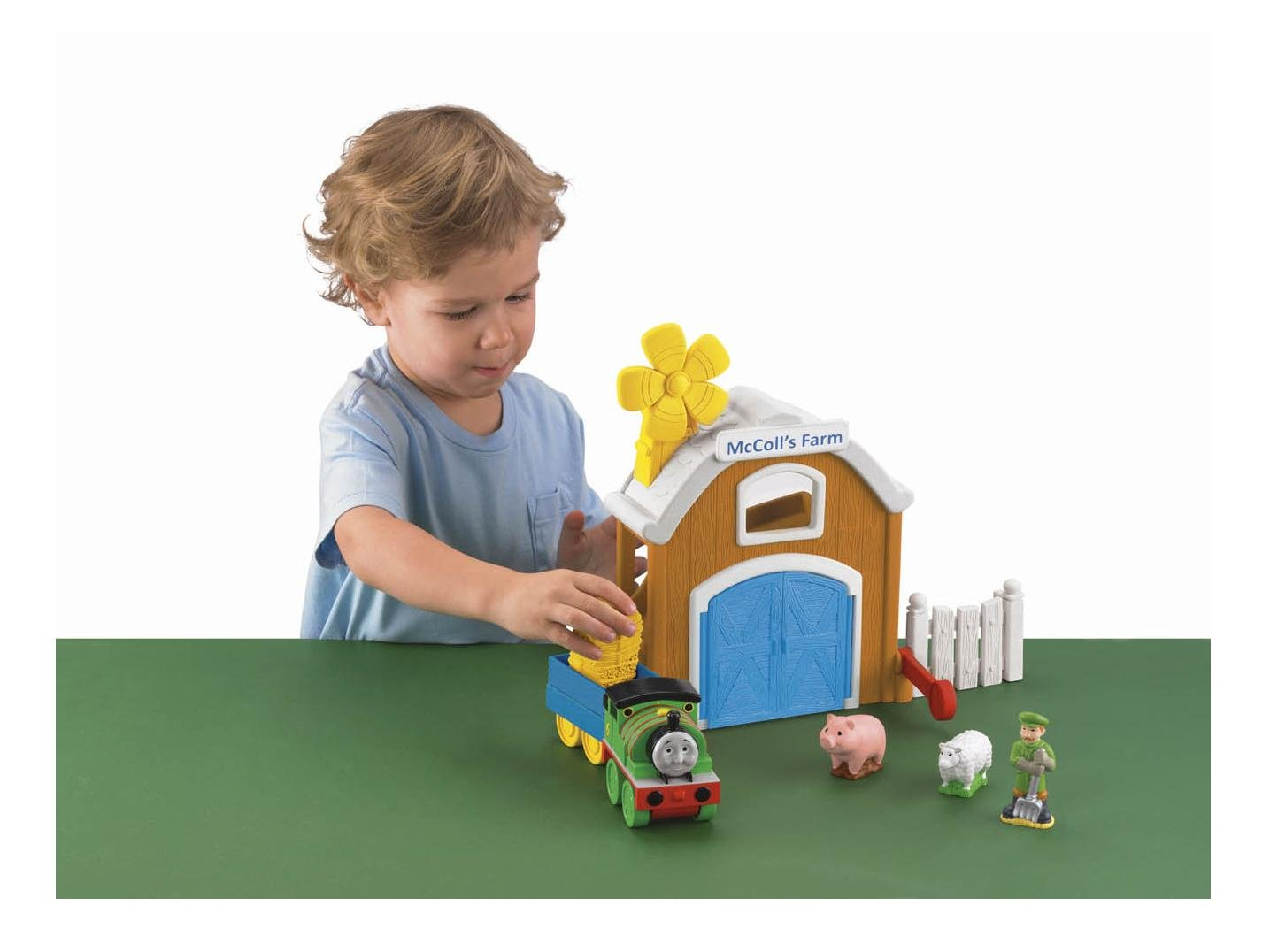 Thomas  Friends: Discover Junction Percy at McColl's Farm by Fisher-Price Thomas