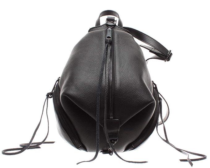2f493fa6ce Rebecca Minkoff Borsa Donna Zaino HU18MPBB25TD 001 Medium Julian Backpack  Nero: Amazon.it: Abbigliamento