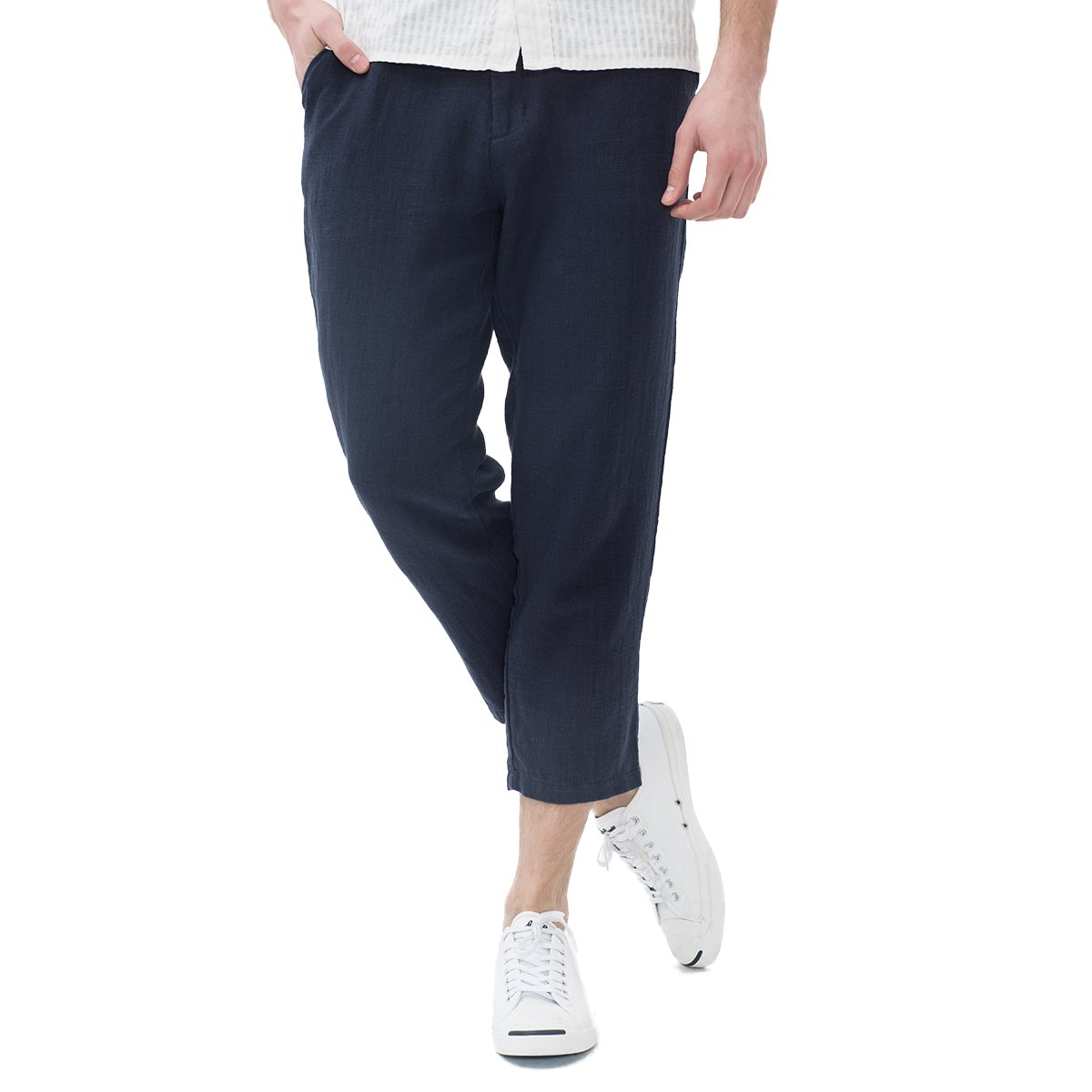 MARKLESS Men's Summer Comfort Classic Fit Causal Beach Pants