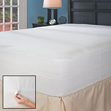 Amazon Com Full Xl Hypoallergenic Bed Bug Mattress Cover With Auto