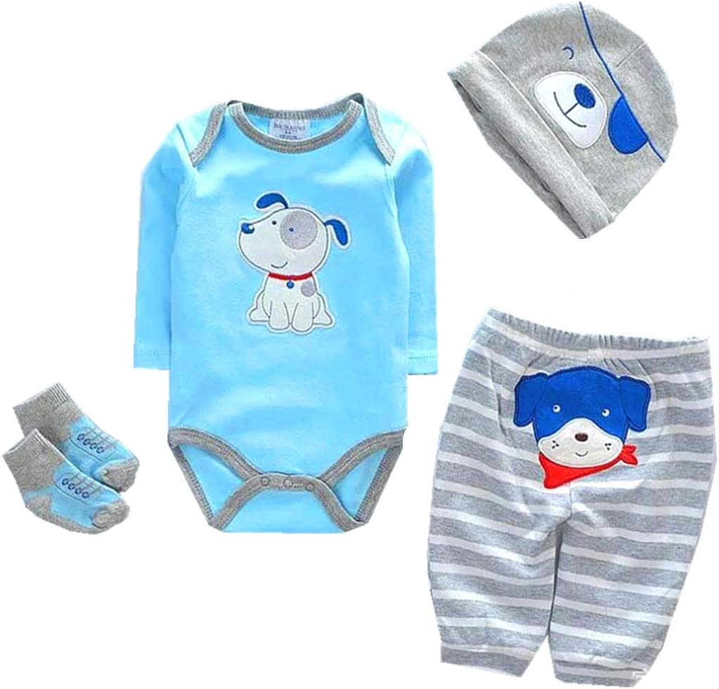 Amazon.com: NPKPINK Reborn Baby Dolls Boy Clothes Blue Outfits 6