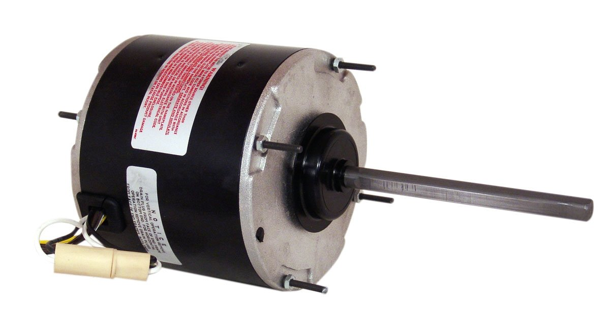 A.O. Smith FSE1056SV1 1/2 HP, 1075 RPM, 1075 volts, 2.8 Amps, 48 Frame, Sleeve Bearing Condenser Motor