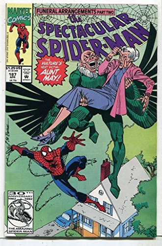 The Spectacular Spider-Man #187 NM Funeral Arrangements Part 2 Marvel CBX9B (2 Part Arrangements)