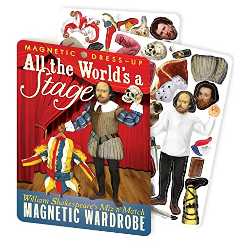All The World's a Stage - William Shakespeare Magnetic Dress Up Doll Play Set