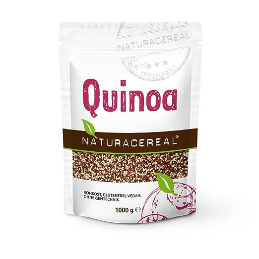 5 opinioni per Misto di Quinoa TRIcolore- NATURACEREAL- ricca di fibre