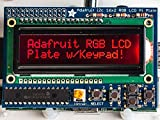 Adafruit RGB Negative 16x2 LCD+Keypad Kit for Raspberry Pi [ADA1110]