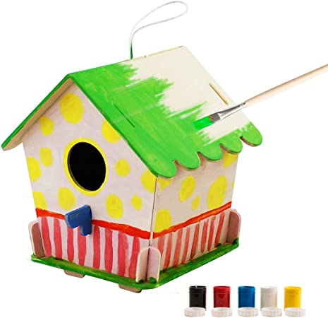 Birthday Present Gift Ideal for Children Over Age 5+ 3D Look And See Birdhouse