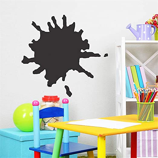 pegatina de pared Pizarra Splat para habitaciones de niños ...