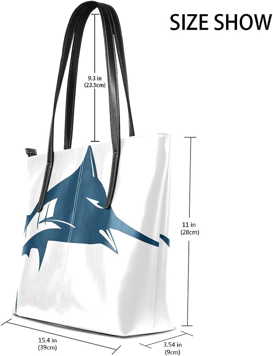 Ethel Ernest Swordfish Womens Purse PU Leather Shoulder Tote Bag