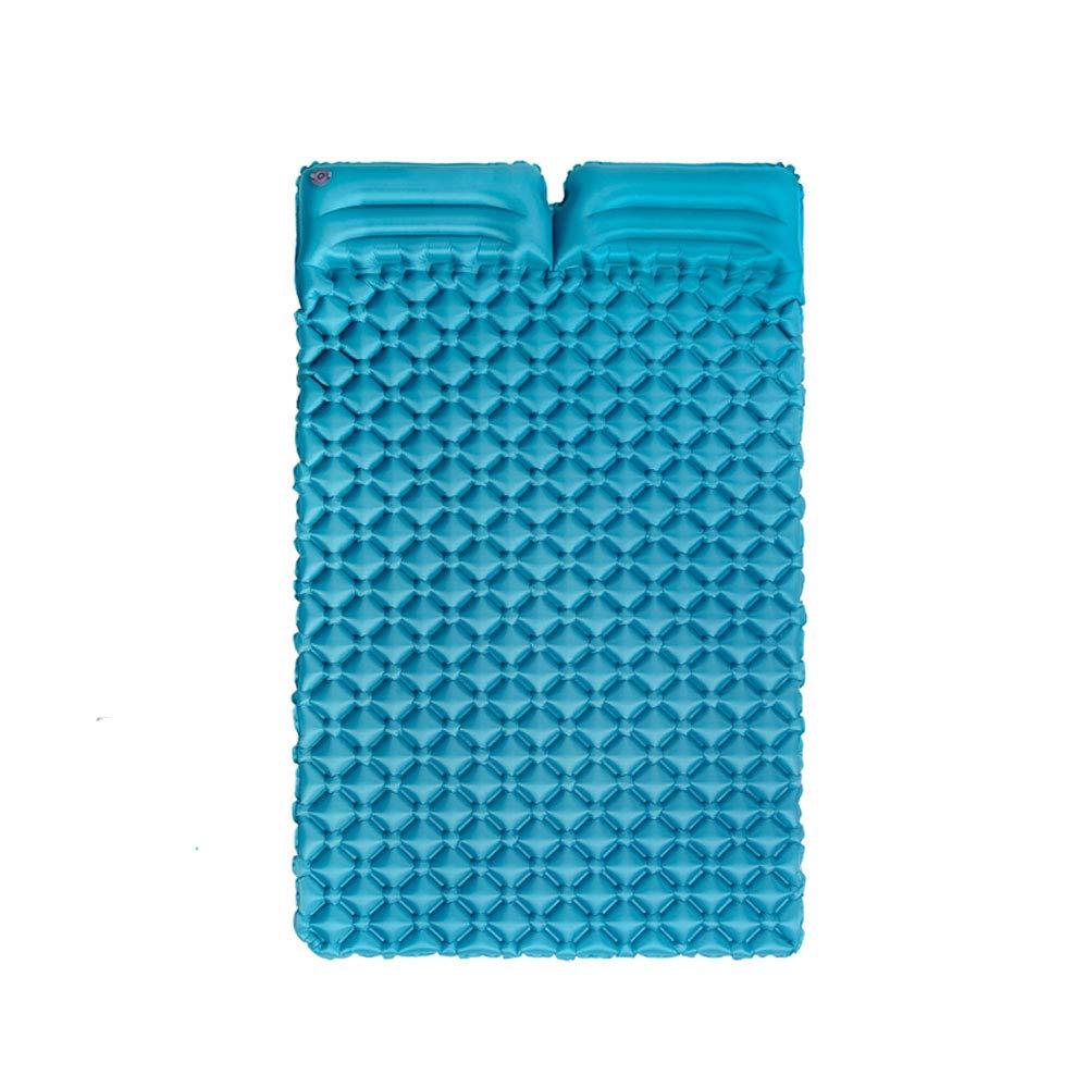 Carpet Sleeping Mats - Outdoor-Bodenmatte Ultra Light Portable Double mit Kissen Ei Nest Aufblasbares Kissen Isomatte -HG