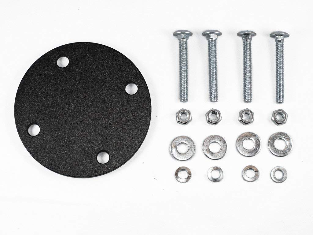 Rotopax Heavy-Duty Mount Backing Plate Kit for Off-Road Ladder with Hardware
