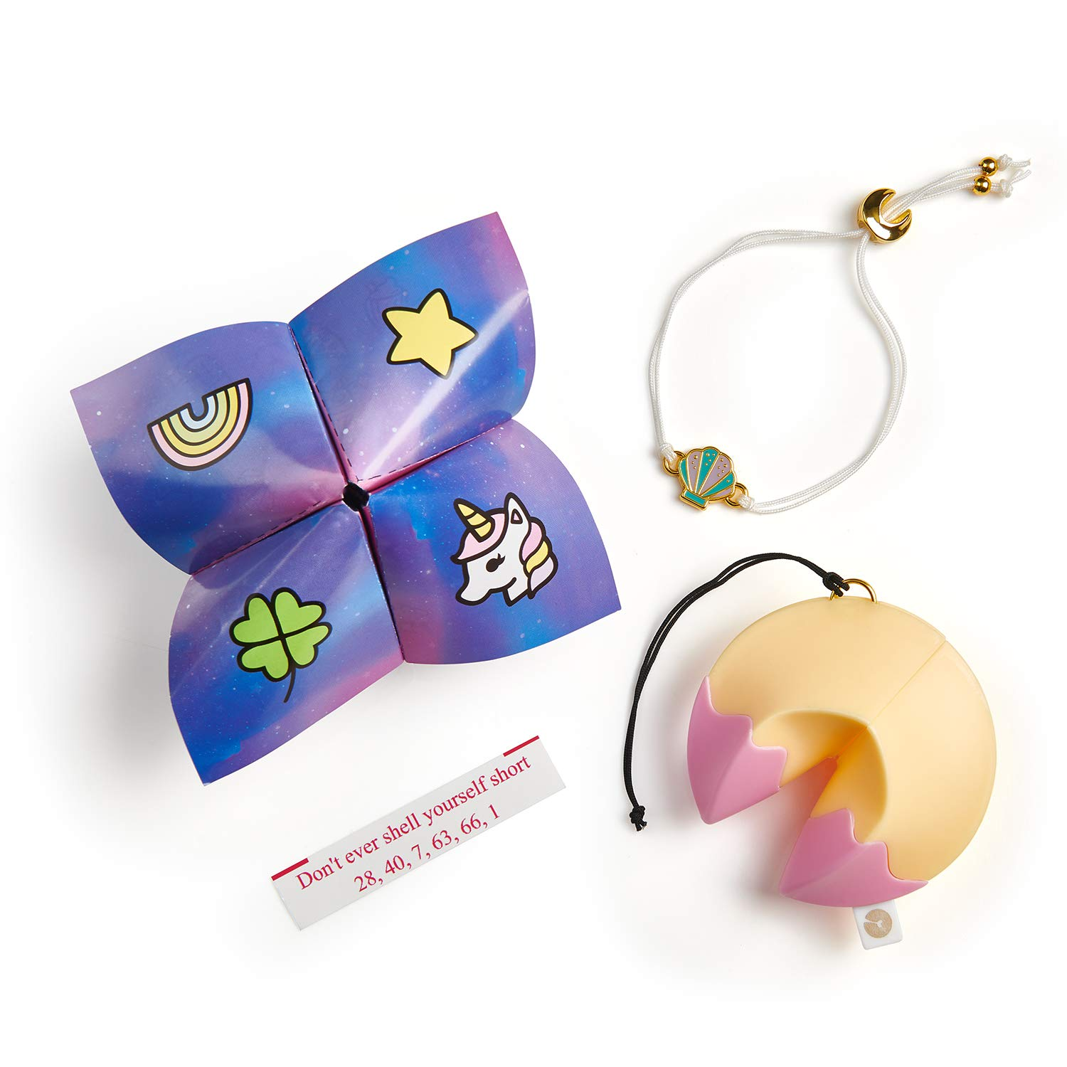 4a8de02261d4a WowWee Lucky Fortune Blind Collectible Bracelets - 4 Pack Take-Out Box -  Series 1