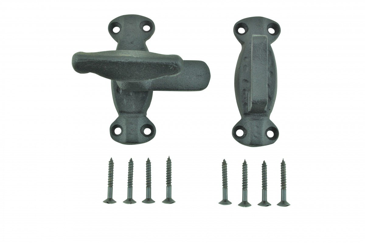 Renovator's Supply 4 Cupboard Cabinet Door Latch Hand Forged Iron by Renovator's Supply (Image #4)