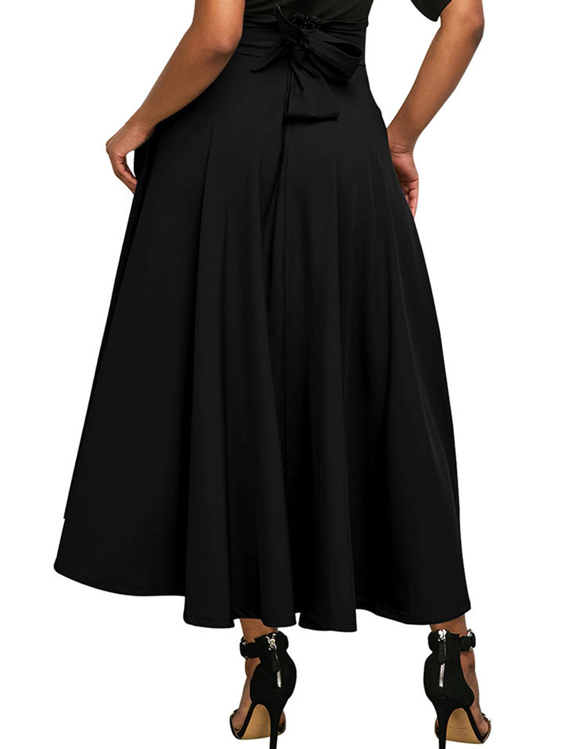 Kimikal Gothic Steampunk Long Sateen Corset Skirt 5