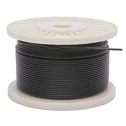 Amazon.com: Derrun - Cuerda de alambre de acero inoxidable ...