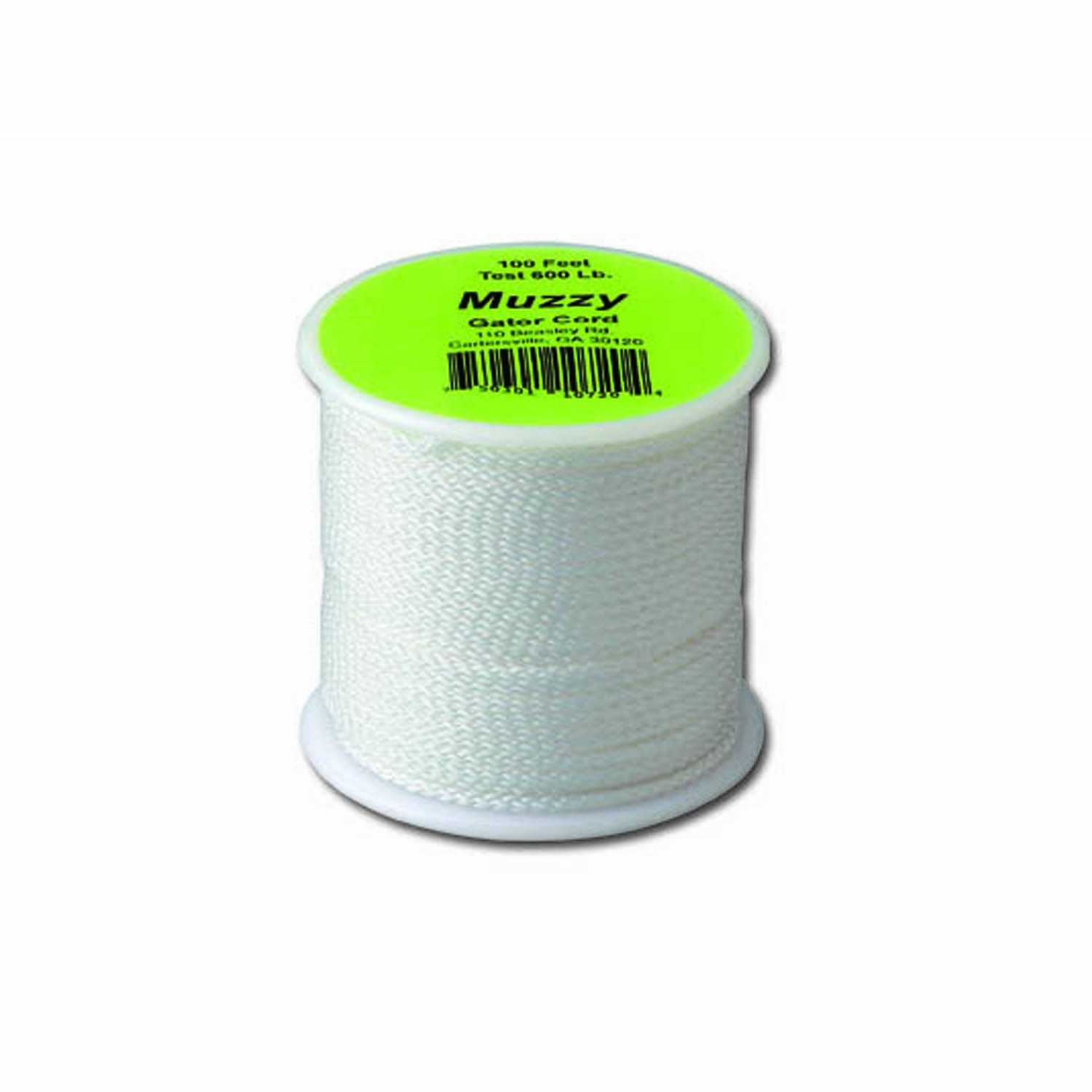 Muzzy Bowfishing 1072 Brownell 600# Gator Cord, 100 ft.