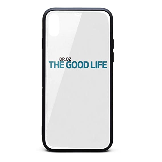 Amazon com: DROZ The Good Life iPhone X&iPhone 10 Case,Thin Tempered
