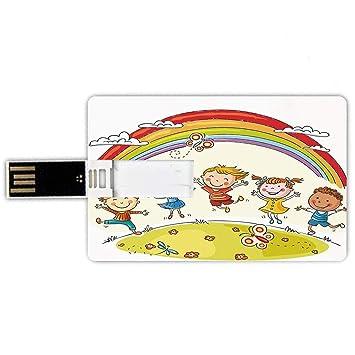 16GB Forma de Tarjeta de crédito de Unidades Flash USB Arco ...