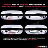 Amazon Com Sizver Chrome Door Handle Covers For 2000 2005 Cadillac Deville Automotive