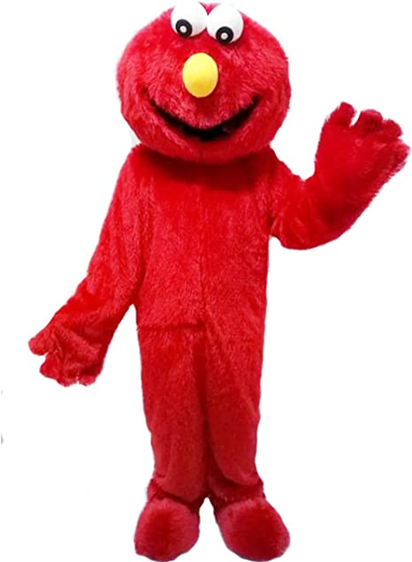 Amazon.com: ZYZ - Disfraz de monstruo rojo Elmo: Clothing