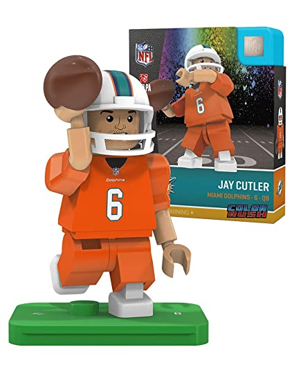 buy online 28a7c d11b8 Amazon.com: Jay Cutler OYO Miami Dolphins Color Rush ...