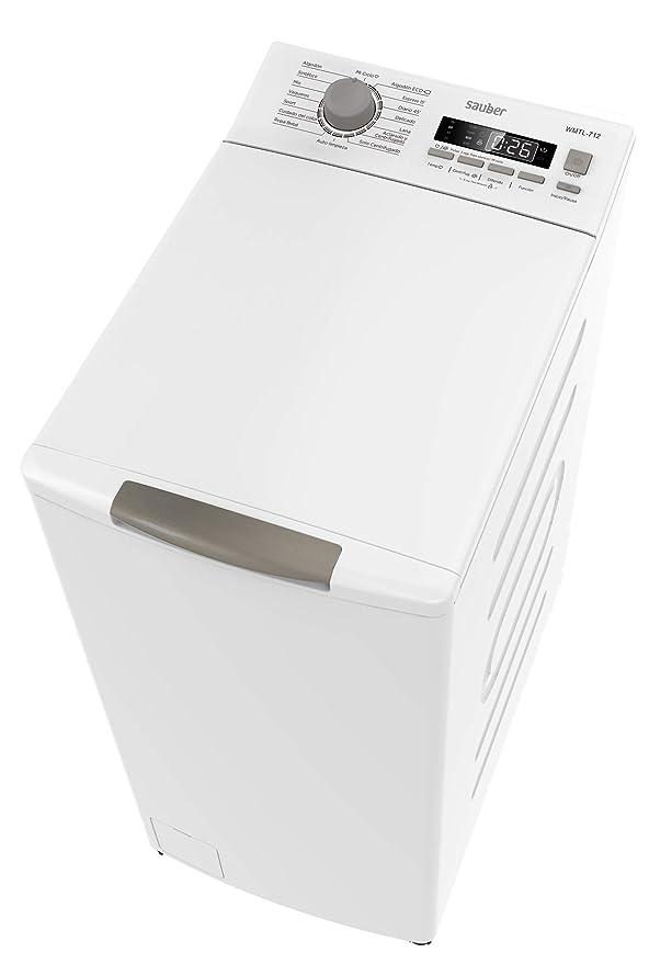 Sauber - Lavadora de carga SUPERIOR WMTL712-7,5 kg - 1200 ...