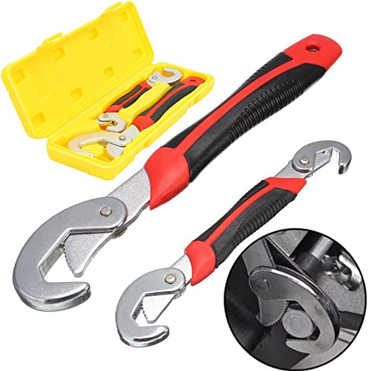 Snap/'n Grip 9~32mm Adjustable Wrench Spanner Universal Quick Multi-function