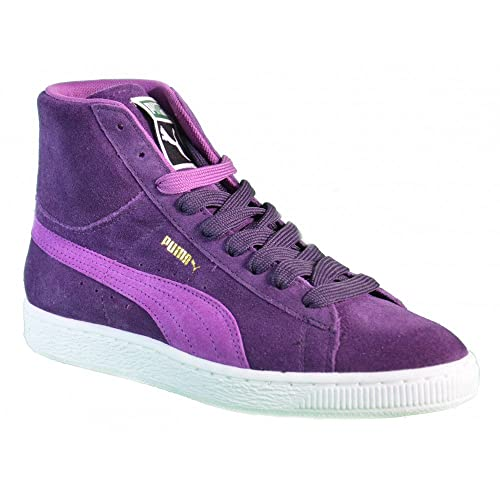 Puma Suede Mid Donna Sneaker Porpora 7WKN5pzt3