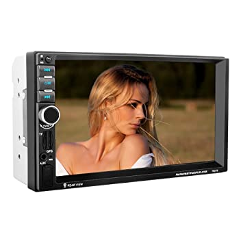 KKmoon 7021G 7 inch 2 Din Car Video Player MP5 Player BT GPS