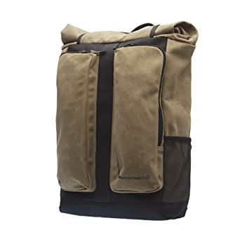 Amazon.com : Blackburn Wayside Backpack Pannier Waxed Canvas, One ...