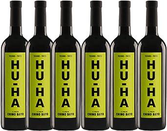 Vino tinto Hu-Ha - Pack 6 Botellas - 75cl: Amazon.es: Alimentación y bebidas