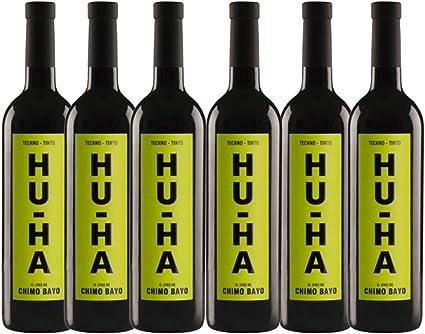 Vino tinto Hu-Ha - Pack 6 Botellas - 75cl: Amazon.es: Alimentación ...