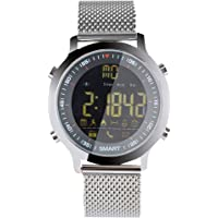 EX18 Smart Watch 5ATM Waterproof Bluetooth 4.0 Call SMS Reminder Pedometer Sleep Monitor Sport Watch Activity Tracker for Android iOS