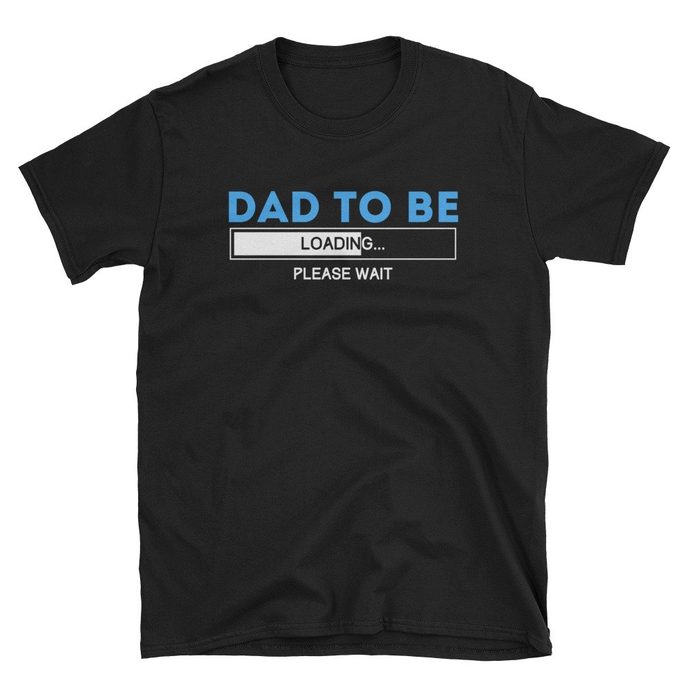 Ziloda Tees Dad To Be Shirt Proud Expression Announcement Apparel Gift