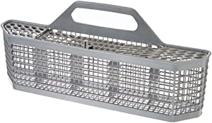 homozy Dishwasher Silverware Basket Equipment Manufacturer Part for Kitchenaid, 19.7x3.8x8.4