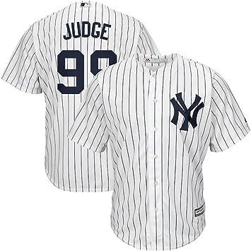 DH88 - Camiseta de béisbol para Hombre, Youth-XL, New York Yankees White: Amazon.es: Deportes y aire libre