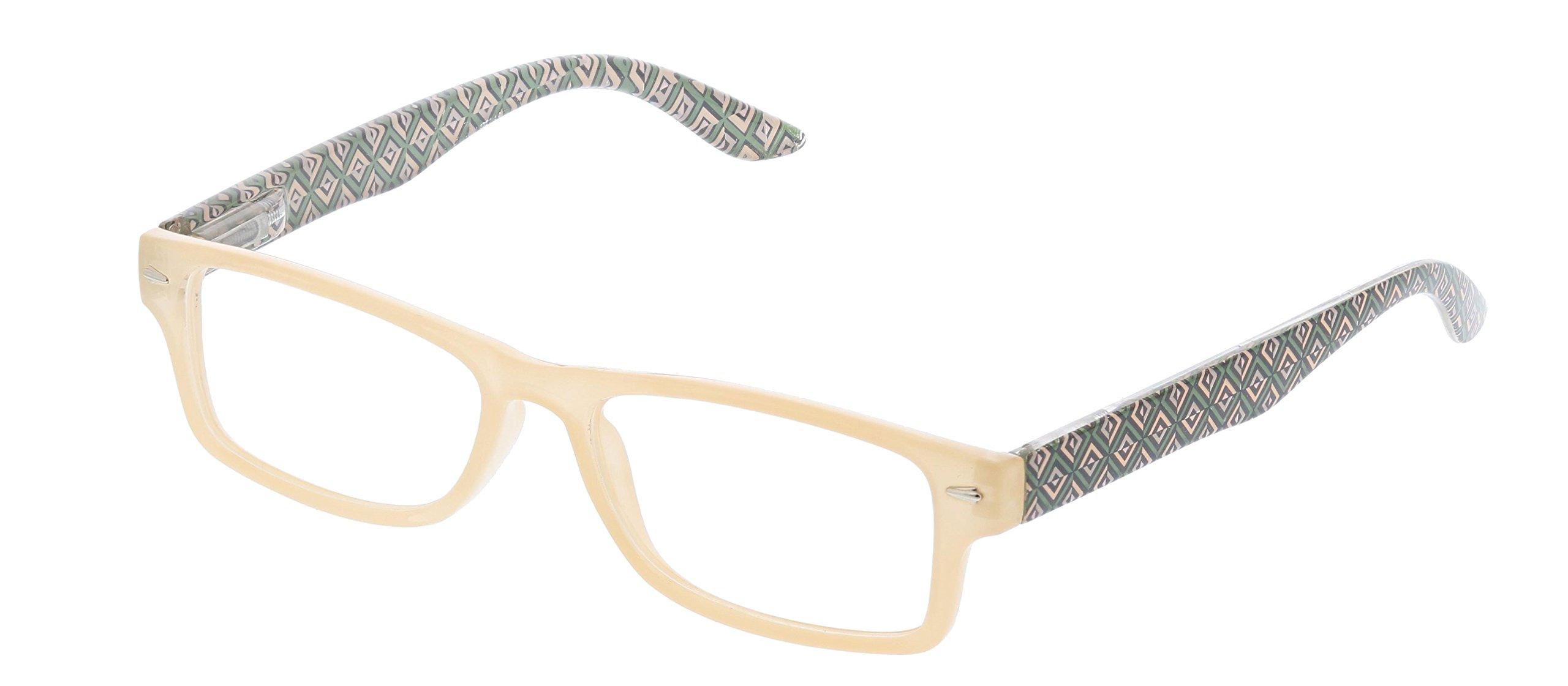 Peepers Women's Ocean Drive - Tan/multi 2403125 Rectangular Reading Glasses, TanΜlti, 1.25
