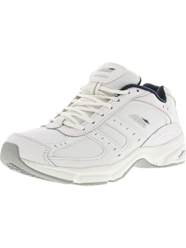 84ea19f0f67 Avia Men s Avi-Volante White Chrome Silver True Navy Athletic Shoe